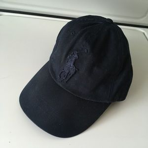 Navy blue polo Ralph Lauren dad hat